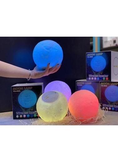 Bludfire Moon Lıght Masa Üstü Renk Değiştirebilen Bluetooth Hoparlör Renkli